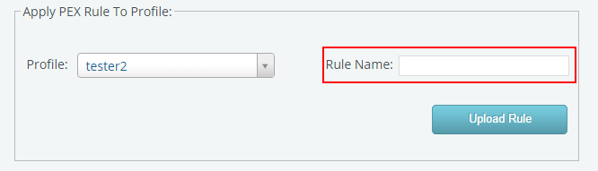 Rule Name, PEX Rule Editor , KantanMT