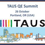 TAUS_QE Summit2016