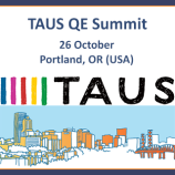 TAUS_QE Summit2016