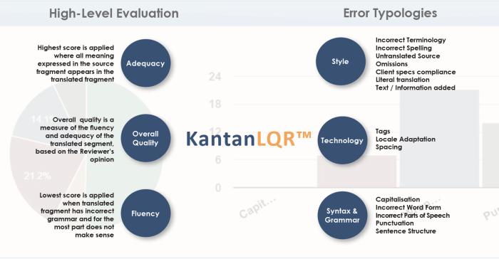 KantanLQR KantanMT Language Quality Review Typologies
