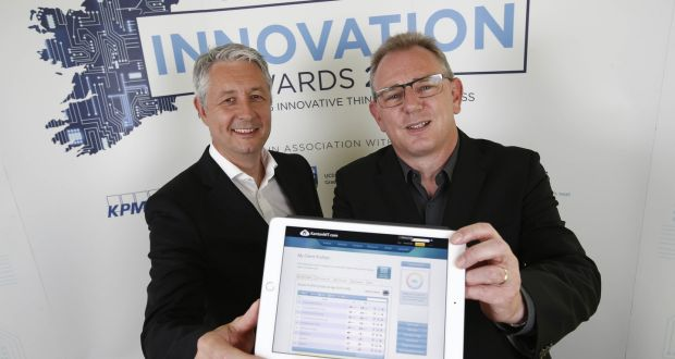 Tony O'Dowd Brian Coyle KantanMT Innovation Awards